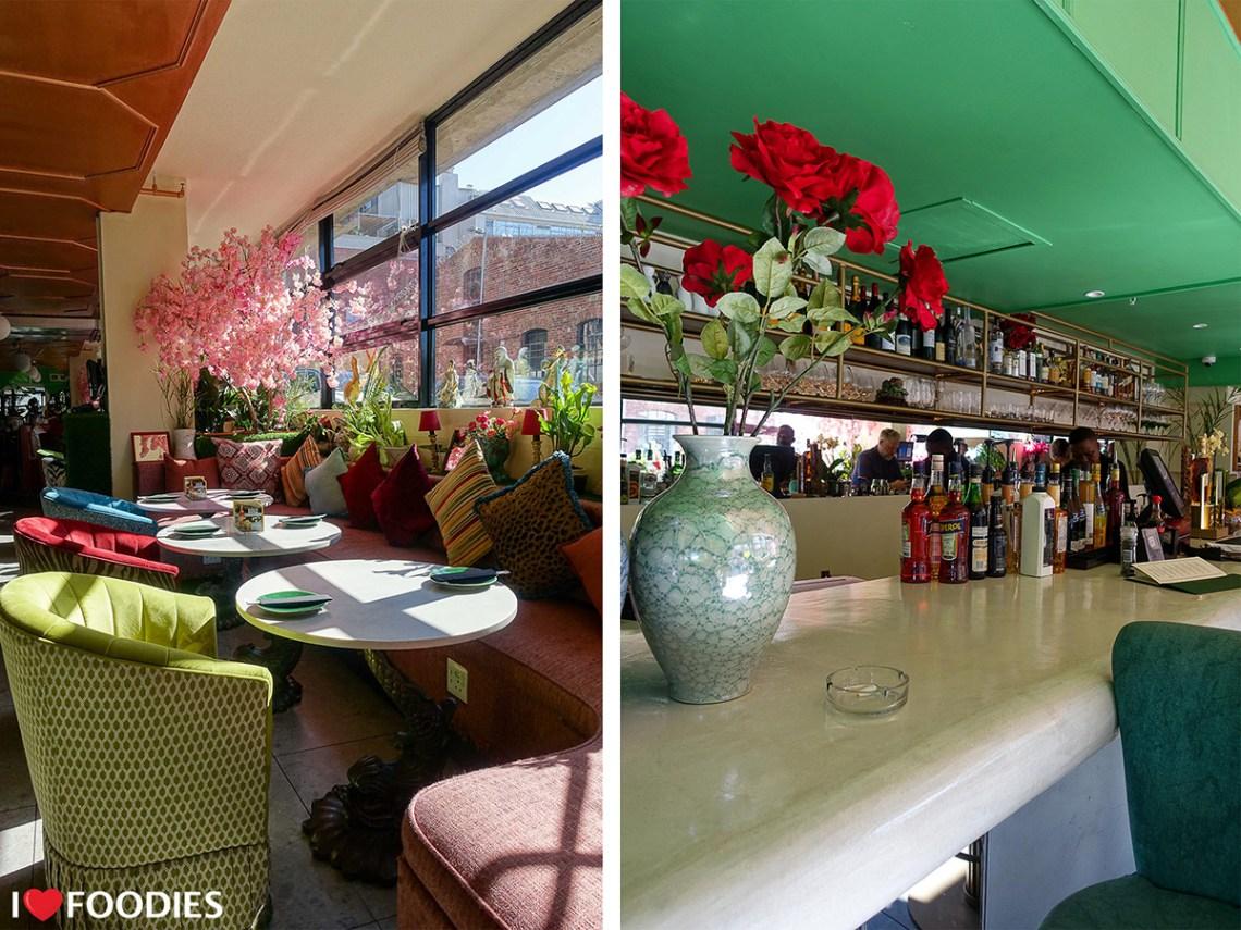 Restaurant Boujee interior design