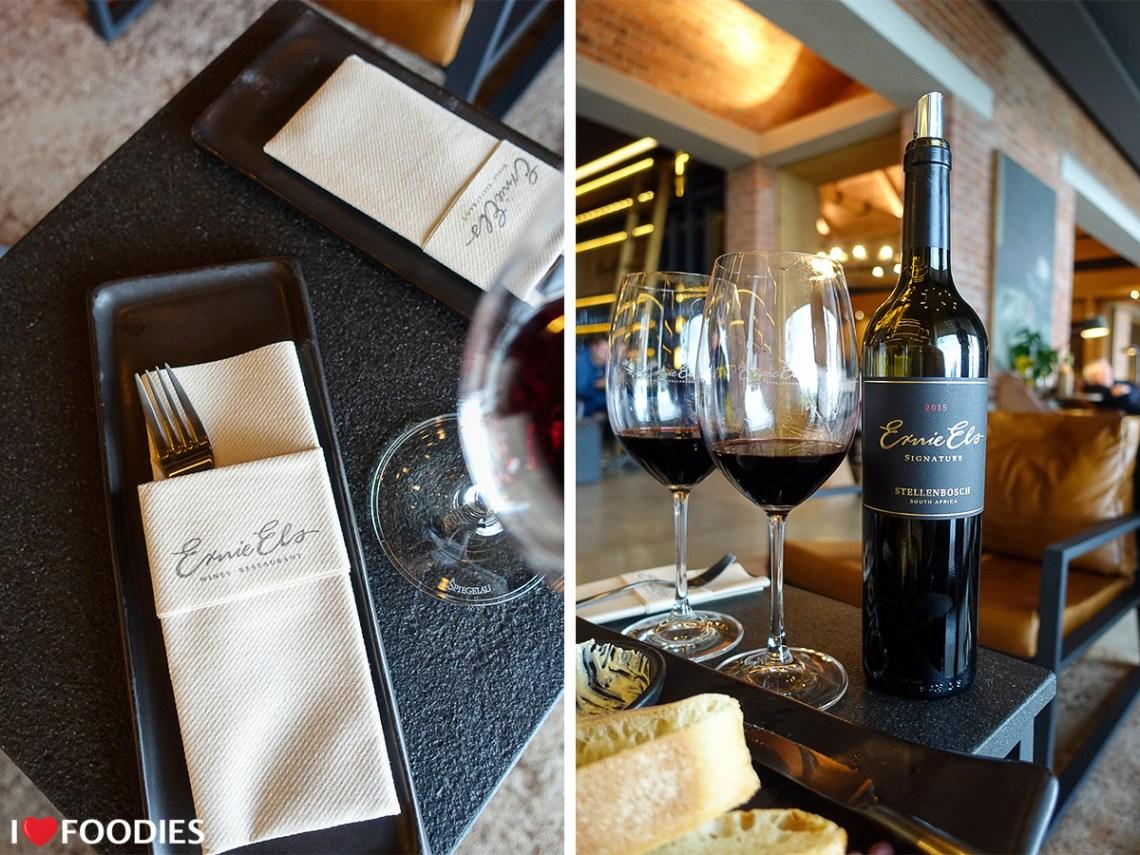 Ernie Els signature wine