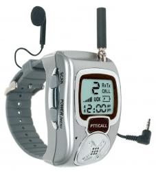 Funkgerät in der Uhr
