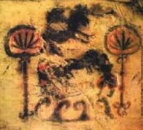 Prehistoric cannabis bong pipe
