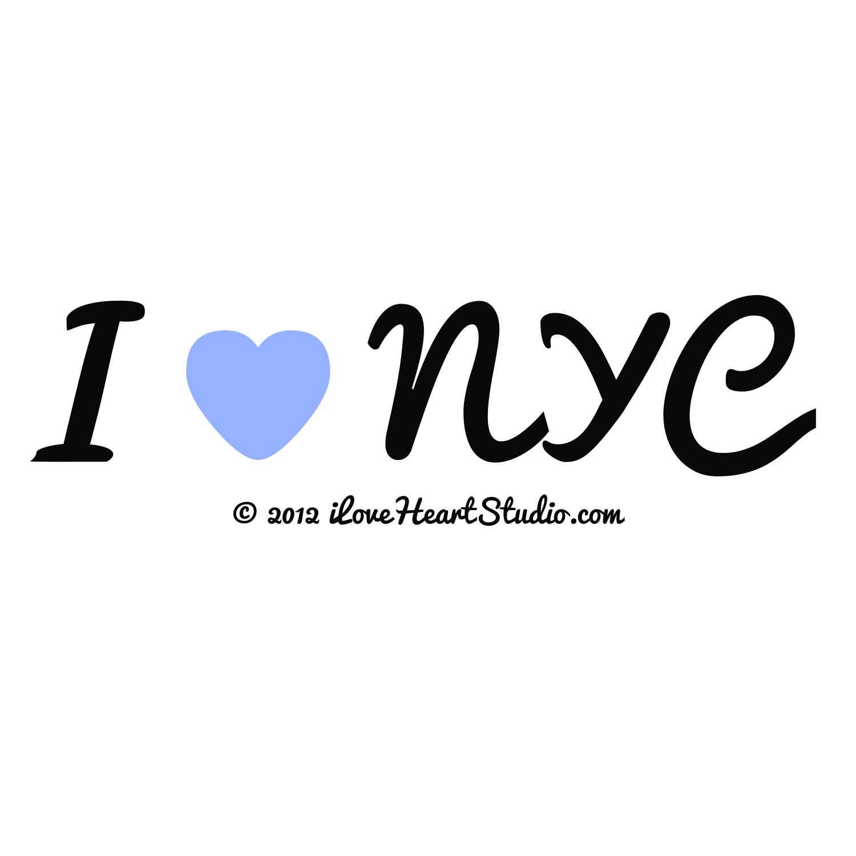 I Love Heart Nyc Design On T Shirt Poster Mug And