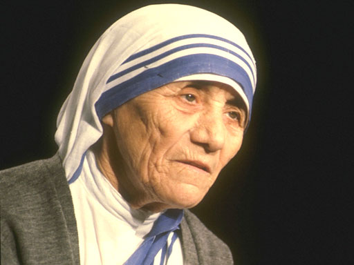 Mother Teresa in India