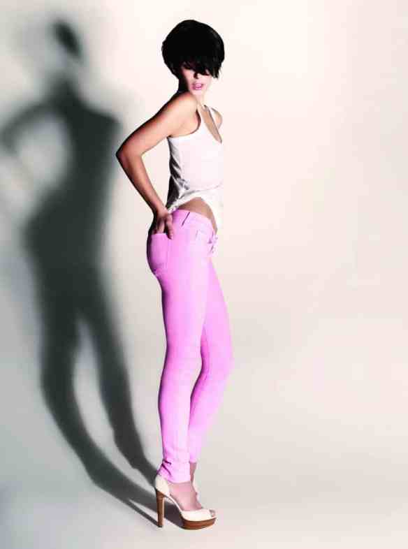 Carrie Skinny Candy Pink Jeans Beg, Borrow or Steal Jeans