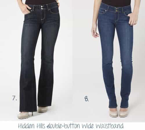 Paige Hidden Hills Jeans Boot Cut & Straight Leg