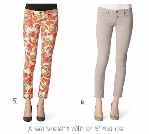 PAIGE DENIM Skyline ankle–peg jeans   £190.00