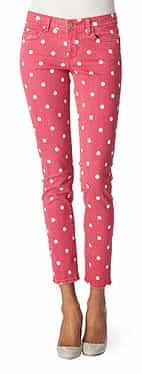 PAIGE DENIM Polka-dot skinny jeans      £220.00