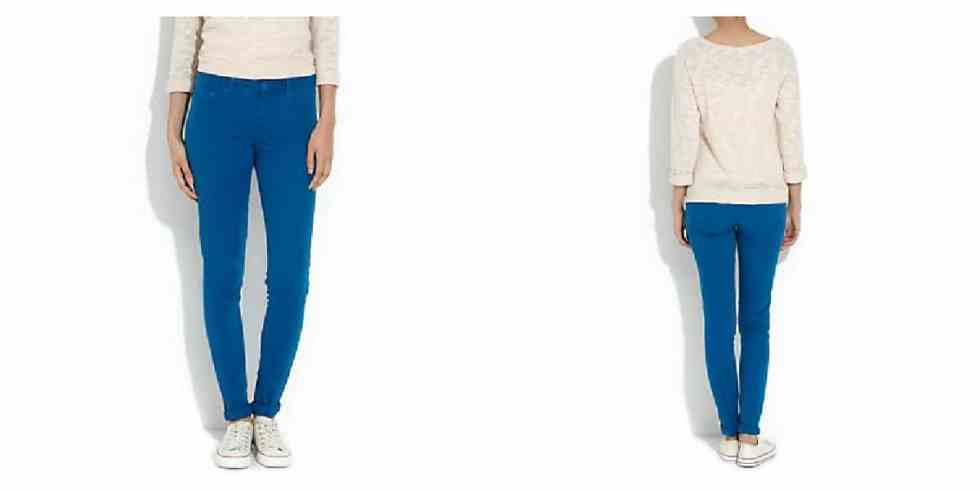SHOP THE TEAL SKINNY JEAN AT NEW LOOK £16.99