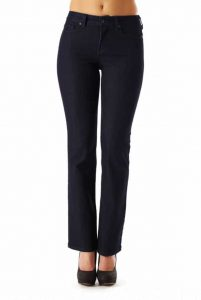 (NYDJ) Not Your Daughters Jeans Barbara Bootcut Mid Rise Bootcut in Dark Denim  Regular Price: £149.95  Sale Price: £99.00 -
