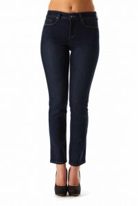 (NYDJ) Not Your Daughters Jeans Sheri Classic Skinny Mid Rise Skinny-Leg in Dark Enzyme  Regular Price: £139.95  Sale Price: £95.00