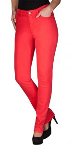 (NYDJ) Not Your Daughters Jeans Candy Apple Mid Rise Skinny In Cotton Twill  Regular Price: £129.95  Sale Price: £89.00