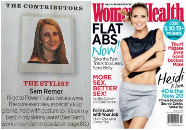Sam The Denim Stylist - Women's Health Contributor