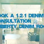 WELCOME TO THE NEW LIBERTY DENIM ROOM