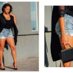 CURVY DENIM SHORTS YOU'LL WANT TO SLIP INTO ALL SUMMER