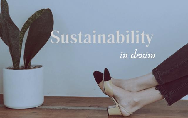 sustainable denim