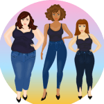 YOU ASKED: WHICH JEAN STYLES CAN A CURVY GIRL WEAR?