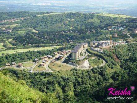 Bird's-eye view of Tagaytay Highlands