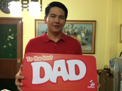 Jolly Father's Day by Jollibee