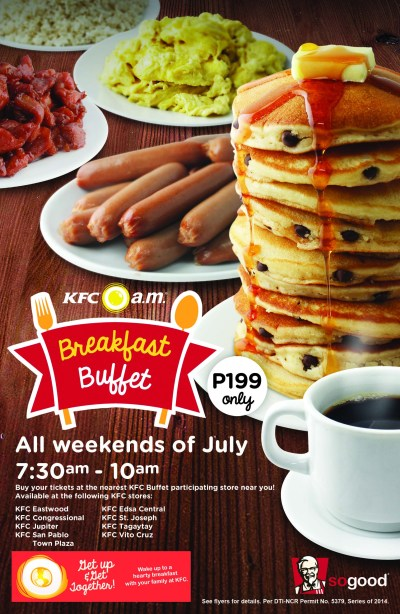 Breakfast Buffet Flyer