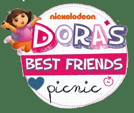 Dora's Best Friends Picnic event logo