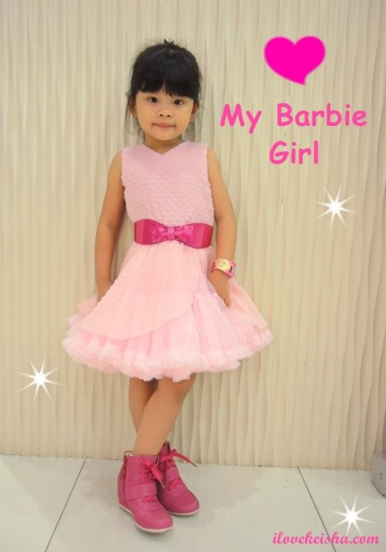 Barbie Rockstar in Baby Fashionista OOTD