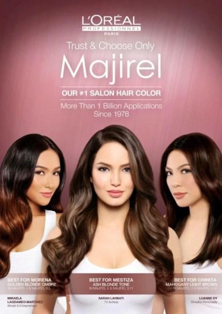 Majirel Brand Ambassadors