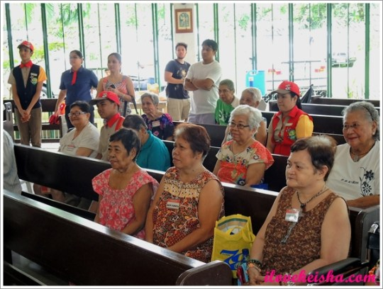 Jollibee Grandparents Day in Kanlungan Ni Maria