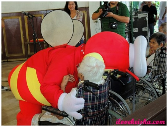Jollibee Grandparent's Day Kanlungan Ni Maria