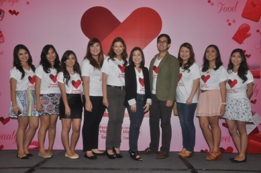 Sangobion Team and the winners of the Make-over 4