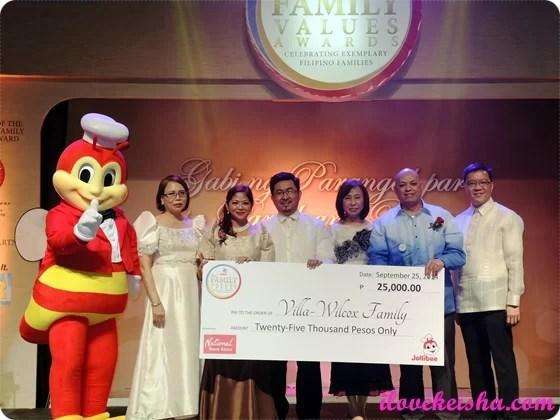 Jollibee Family Values Awards