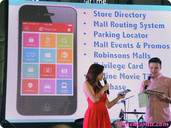Robinsons Malls App Launch