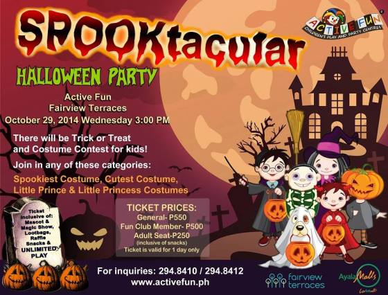 active fun halloween event