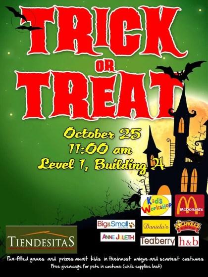 tiendesitas trick or treat event