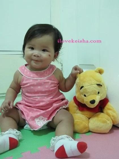 Keisha Huggies Baby