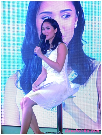 Robinsons Supermarket's Thank You Day Heart Evangelista