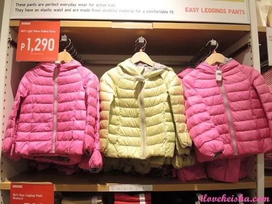 KIDS(GIRLS) LIGHT WARM PADDED PARKA