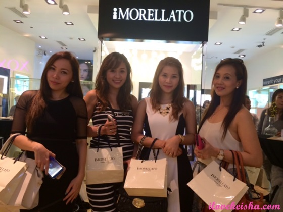morellato with friends