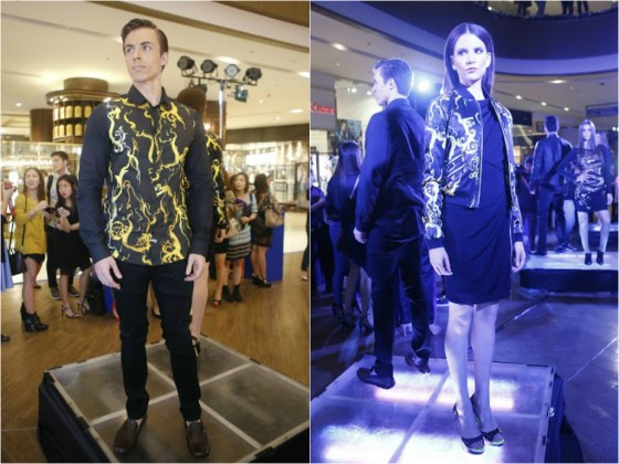 Versace Jeans 2014 Fall/Winter Collection Launch