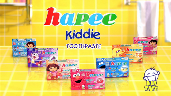 Tips On How To Make Tooth Brushing Fun Time For Kids With HAPEE Kiddie Toothpaste