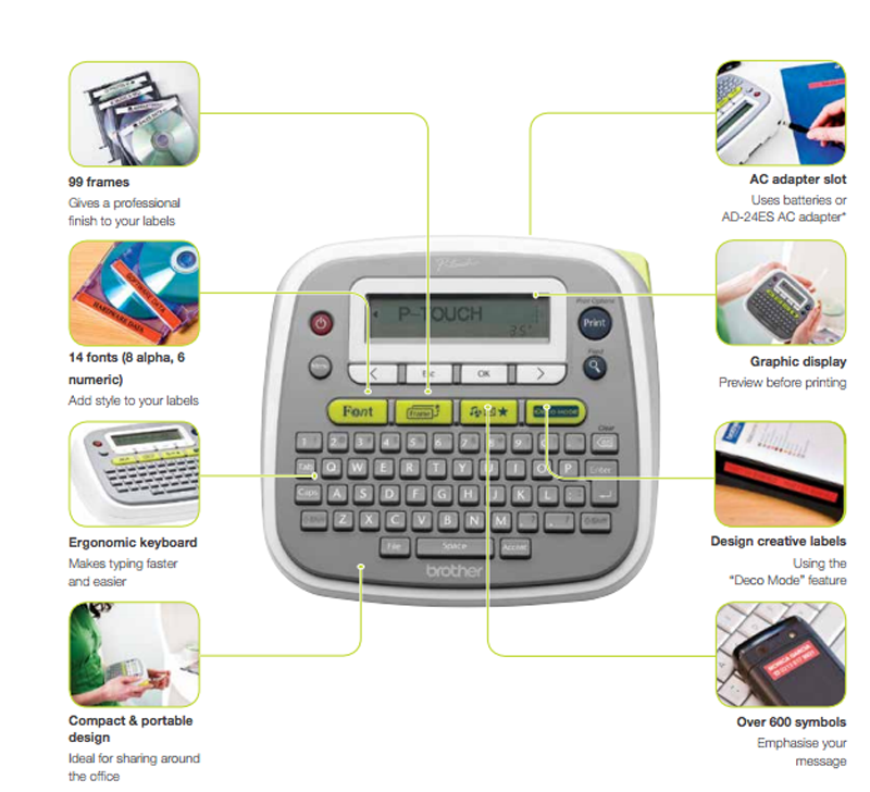 Brother P Touch PT-D200 Label Maker Giveaway