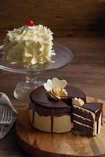 White Chocolate Butter Cake and Choco Peanut Butter Cake
