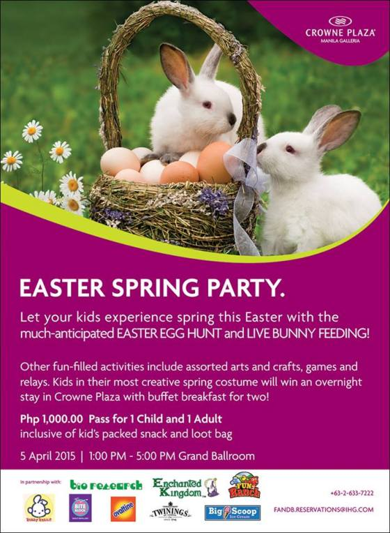 Crowne Plaza Easter Egg Hunt