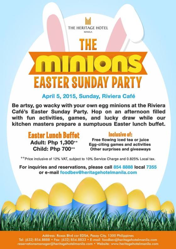Heritage Hotel Easter egg hunting events