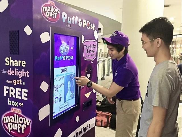 Mallow Puff Vending Machines