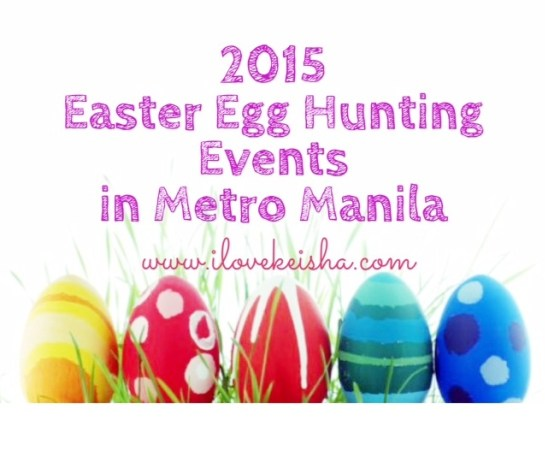 easter egg hunting events in metro manila