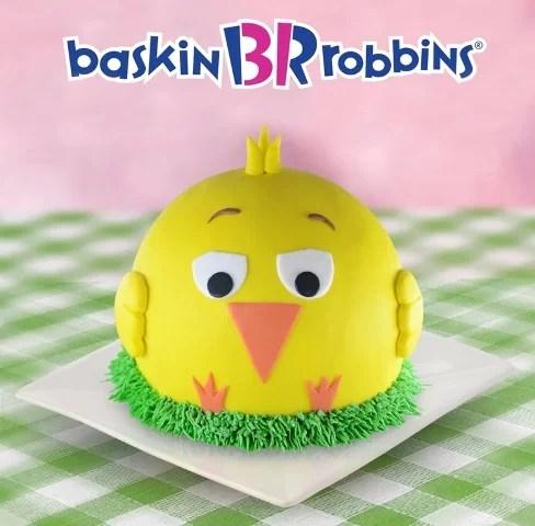 Baskin Robbins Chick Cake