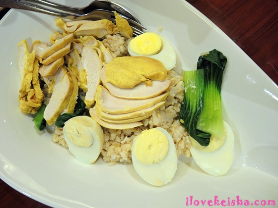 Healthy Haiananese Chicken by Familymart