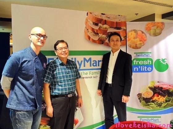 FamilyMart Health and Wellness line