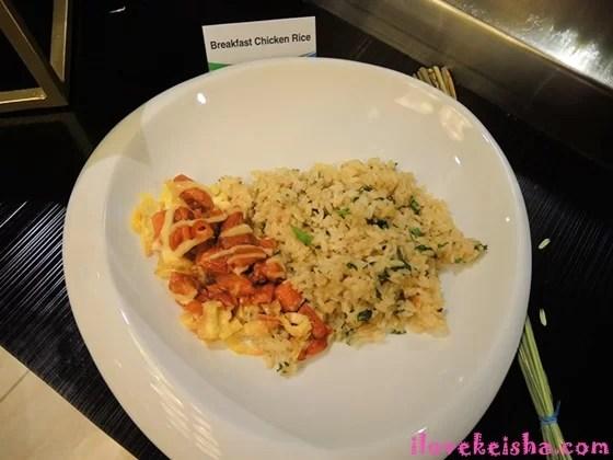 Breakfast Chicken Rice Meal FamilyMart