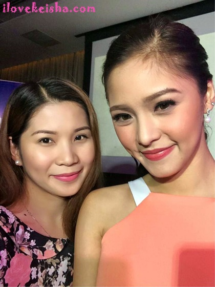 Kaye with Kim Chui