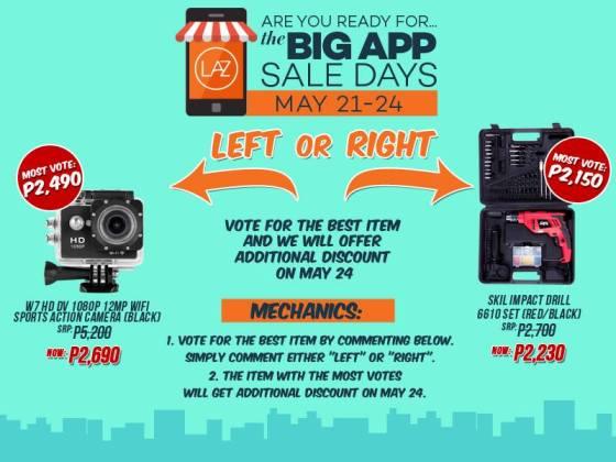 2. lazada big app sale